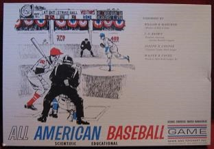 toycraft all-american baseball games