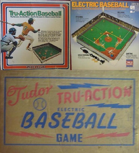 Tudor ELECTRIC BASEBALL Game 1980s Edition