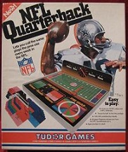 tudor nfl quarterback football game
