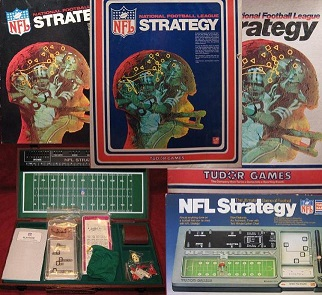 tudor nfl football strategy game